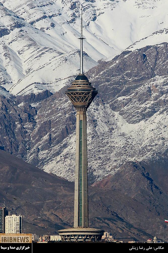 عکس هایی از داخل برج میلاد تهران