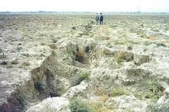 دشت نیشابور ؛بحرانی ترین وضعیت در فرونشست زمین در خراسان رضوی