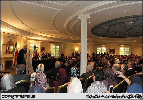 روحانی: ایرانیان همواره دارای اندیشه بلند و درخدمت بشریتند