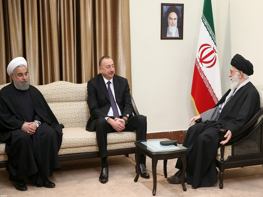 نتیجه تصویری برای دیدار رئیس جمهوری آذربایجان با رهبر انقلاب