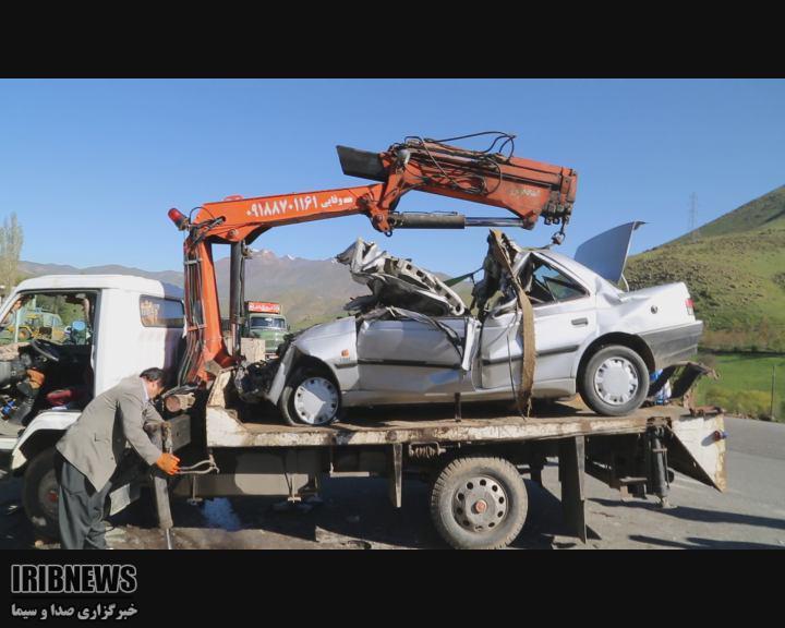 سانحه رانندگی در محور سنندج - کامیاران