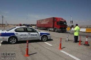 توقیف خودرویی با ۲۰۶ کیلومتر سرعت در آذربایجان غربی