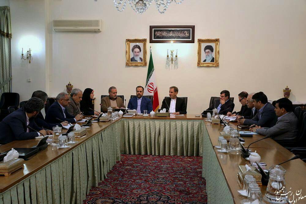 دیدار مجمع نمایندگان استان با معاون اول رییس جمهور