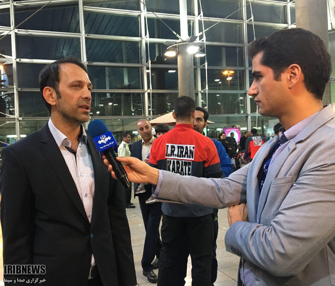 هروی: تیم ملی کاراته ملک شخصیام نیست