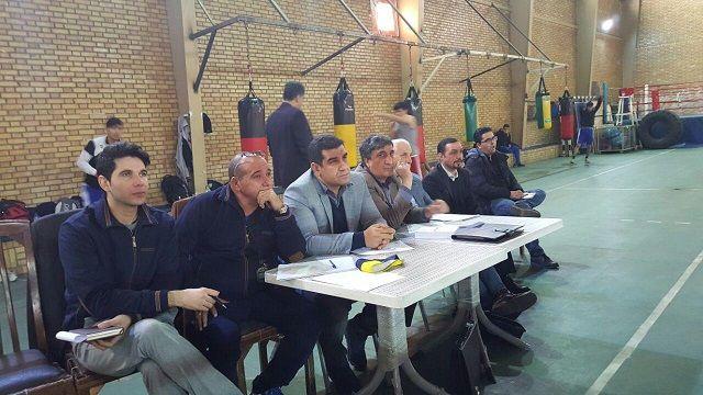 دومین رقابت بوکسورها در رینگ انتخابی