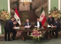 امضای پنج سند همکاری میان تهران و دمشق