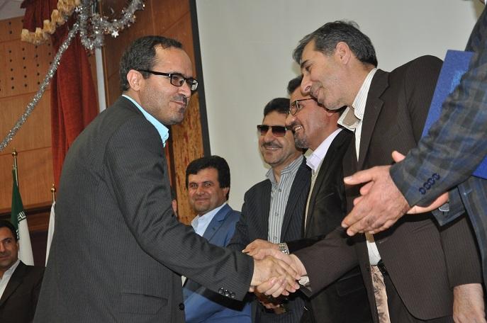 مراسم تکریم و معارفه روسای مرکز بهداشت شهرستان بویراحمد