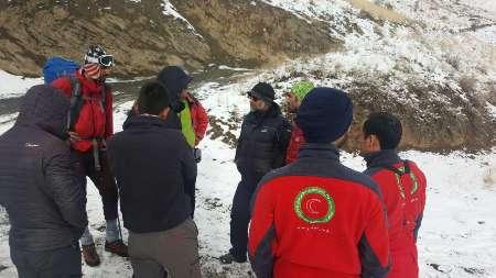 زنده بودن سه کوهنورد مفقود شده در ارتفاعات بینالود