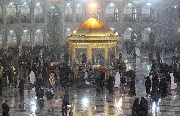 بارش برف در 5 شهرستان خراسان رضوی