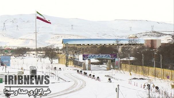 دانه های برف - زنجان