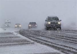 برف ، باران و مه در بعضی محورهای خراسان رضوی