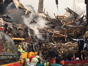 مصدومیت 202 نفر در حادثه پلاسکو