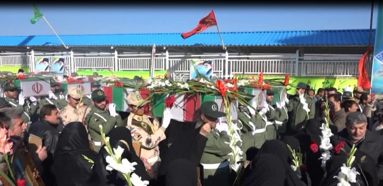 ایران در انتظار ورود پیکر پاک 130 شهید