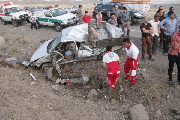 تلفات جاده ای فارس به  هزار و 290 نفر رسید