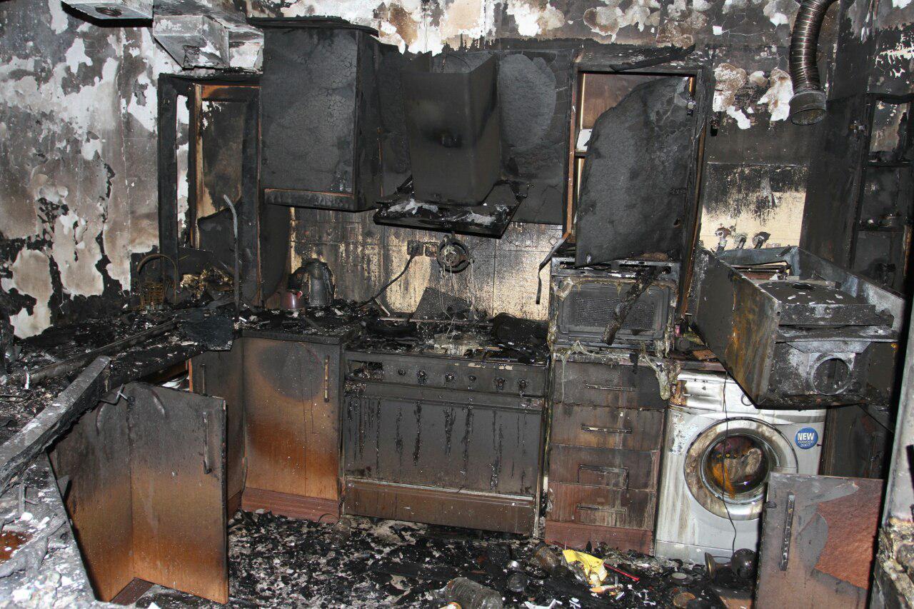 اطفا به موقع حریق گسترده در ساختمانی در مشهد و نجات جان 18نفر از ساکنان