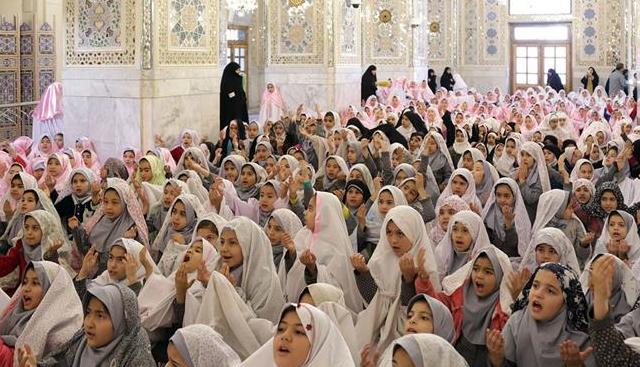 جشن تکلیف پنج هزار دانش آموز دختر مدارس مشهد