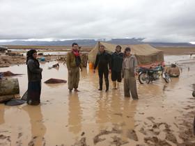 خسارتهای سیل و بارشهای شدید در تایباد