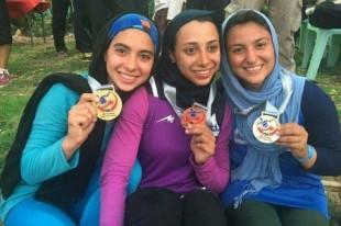 کسب نخستین طلای اسلالوم بانوان ایران در آسیا