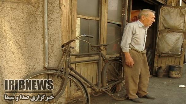 دوچرخه 45 ساله همدم مرد امانتدار زنجانی