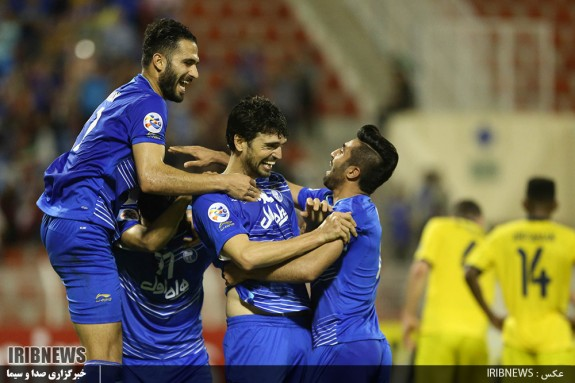 رقابت فوتبال تیم های استقلال ایران - التعاون عربستان