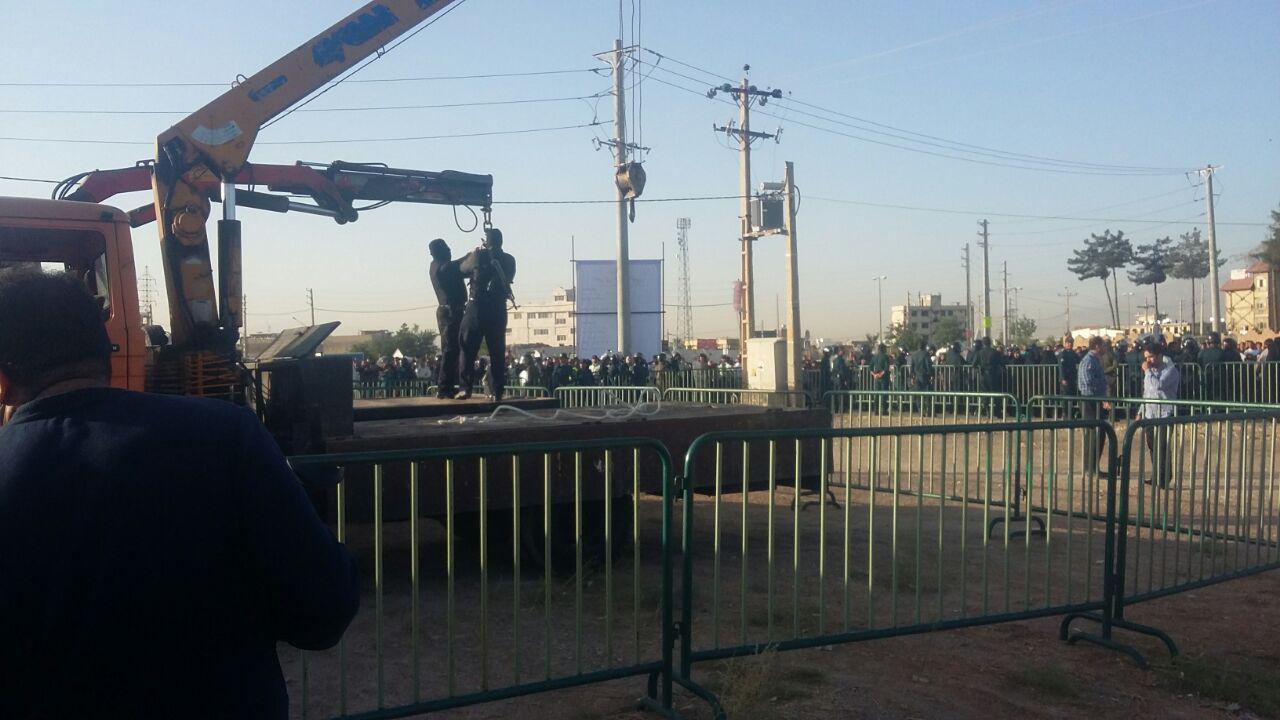 اعدام مرد ژله ای در شیراز