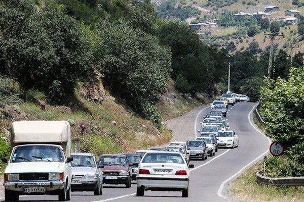 ترافیک نیمه سنگین در جاده های مازندران