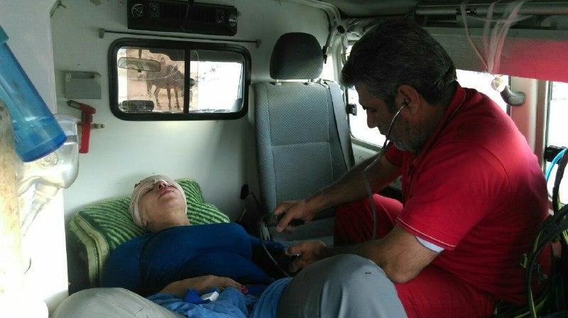نجات بانوی کوهنورد لهستانی از دره درلاریجان آمل