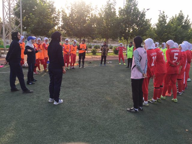 آغاز اردوی فوتبال دختران زیر 19 سال