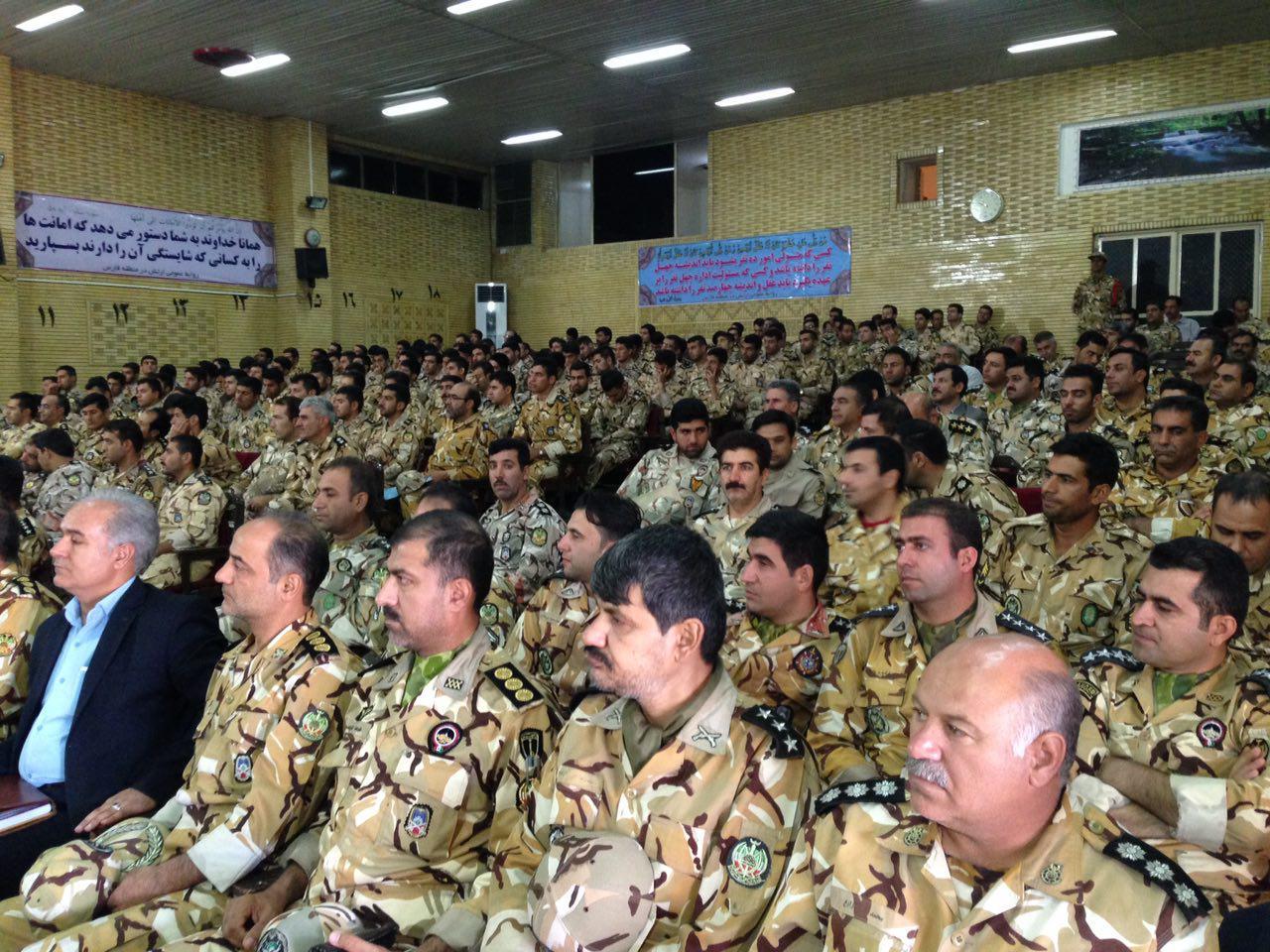 تودیع و معارفه فرماندهی ارشد آجا در فارس و کهگیلویه و بویراحمد