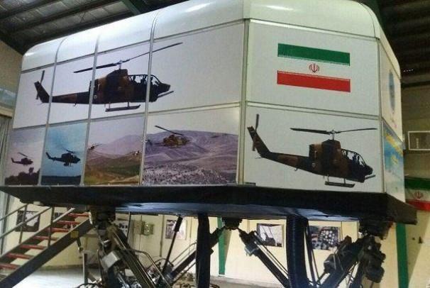 ایران جزء چند کشور سازنده شبیه ساز بالگرد است