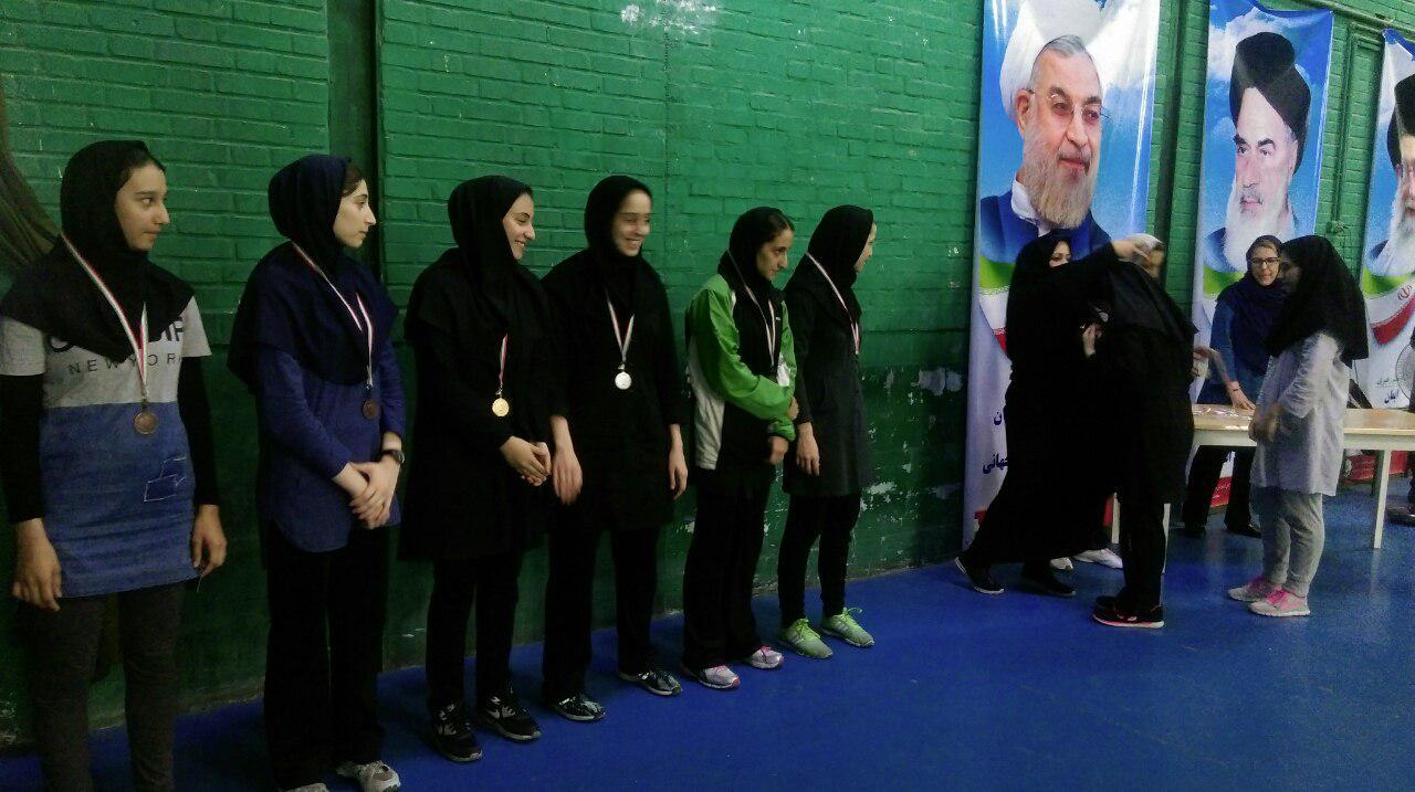 پایان مسابقات رده بندی بدمینتون بانوان کشور در مشهد