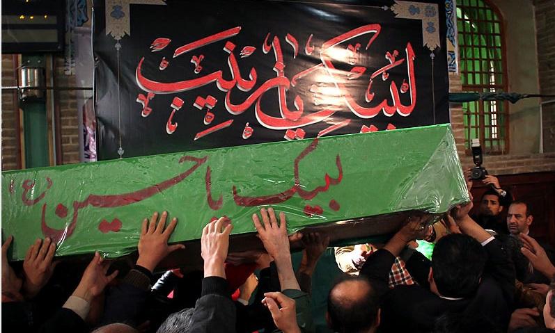 مشهد میزبان پیکر پاک دو شهید مدافع حرم