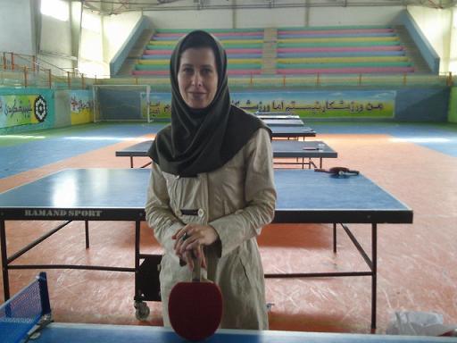 معرفی سرمربی جدید تیم ملی تنیس روی میز بانوان