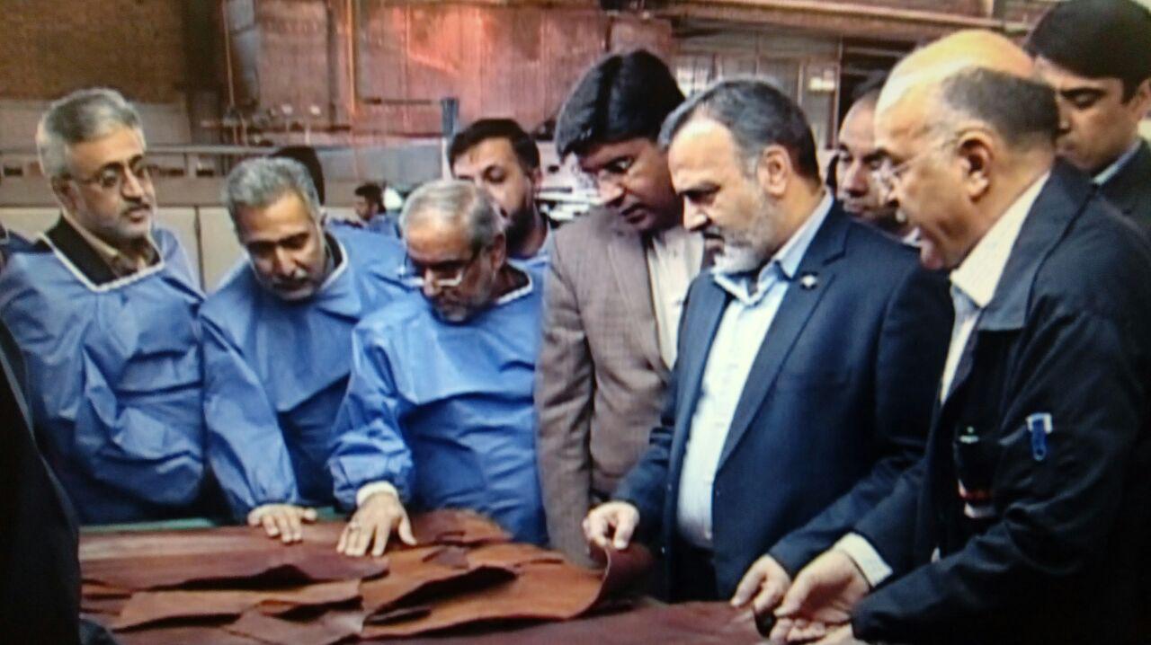 تاکید بر ادامه فعالیت شهرک صنعتی چرمشهر مشهد