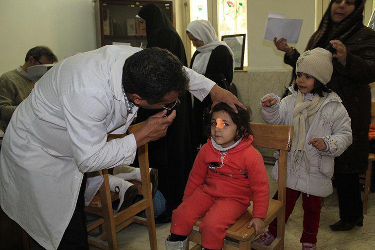 آغاز طرح پیشگیری از تنبلی چشم ، زنجان