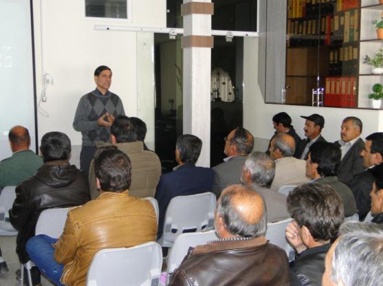 برگزاری کارگاه آموزشی پرورش ژله رویال