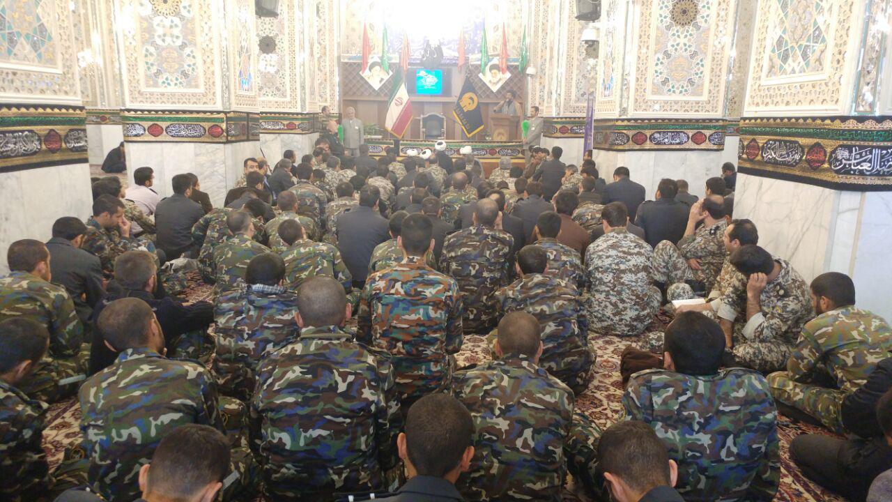 آغاز مسابقات سراسری قرآن قرارگاه پدافند هوایی خاتم الانبیا در مشهد