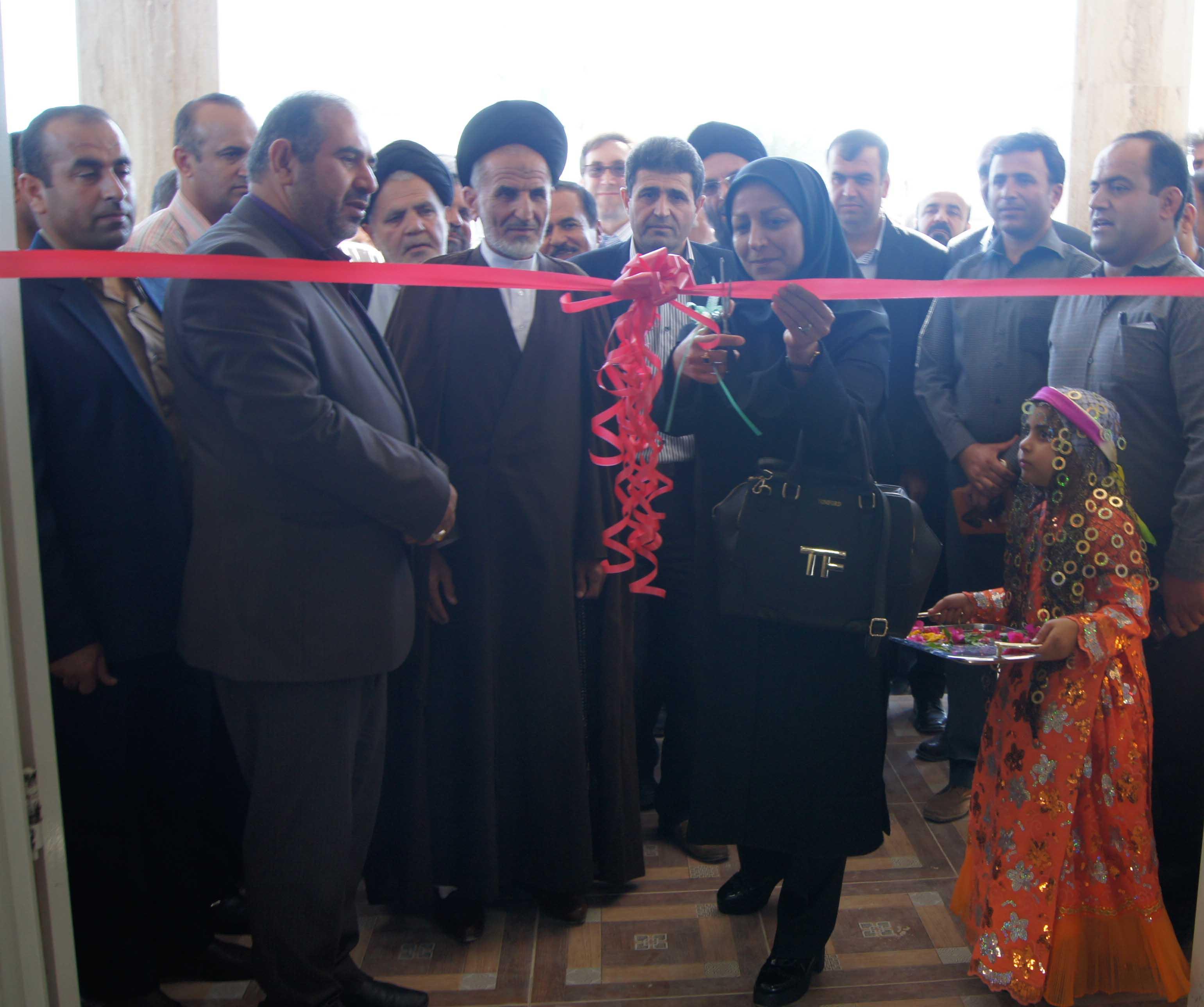 قطار سروش افتتاح دو کتابخانه در جنوب فارس | دو کتابخانه عمومی در شهرستان