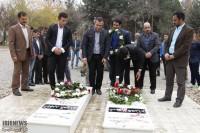 نشان نقره مسابقات جهانی کوراش تقدیم شهدای گمنام