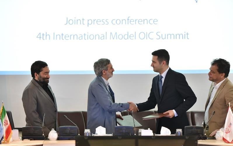 پایان اجلاس مدل سازمان همکاری های اسلامی