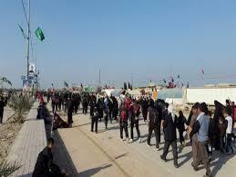 برپایی ایستگاه صلواتی برای بازگشت زائران رضوی در غرب خراسان رضوی