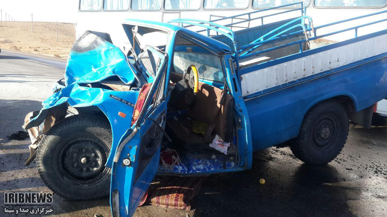 4 کشته بر اثر تصادف در جاده فسا به داراب