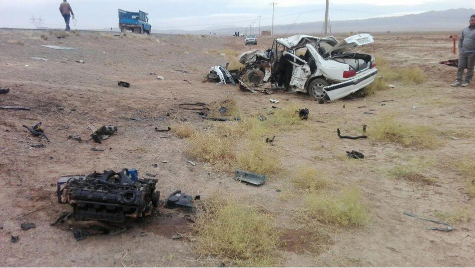 تصادف محور خوشاب-قوچان با 2 کشته