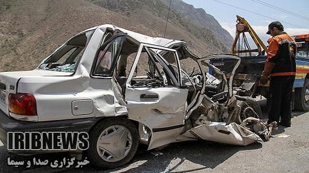 سانحه رانندگی در زنجان