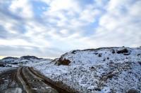 انتقالات ناجا تداوم بارش های پراکنده برف درمهاباد | بارش های پراکنده برف