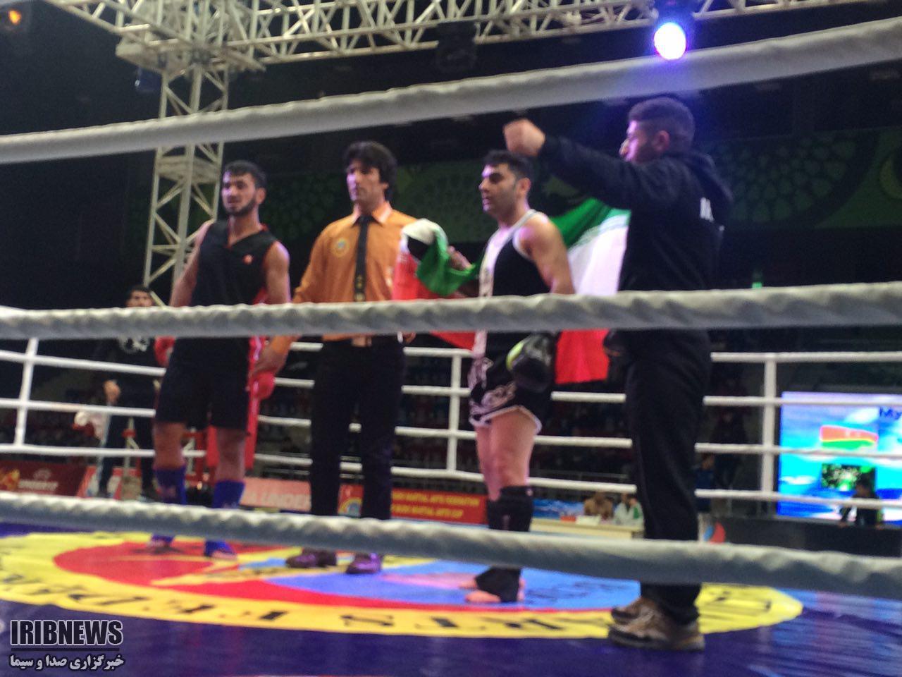 رزمی کار مهابادی مقام اول قهرمانی فستیوال جهانی مسابقات کیک بوکسینگ را کسب کرد