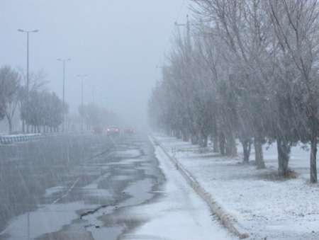 باد، کولاک برف و باران در خراسان رضوی