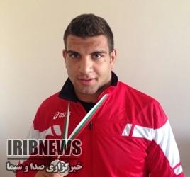 کسب نشان برنز کشتی آزاد جایزه بزرگ آذربایجان توسط ورزشکار کرمانشاهی