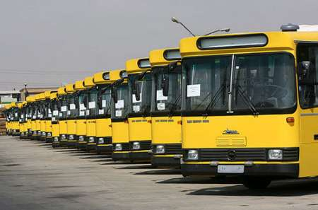 سرویسدهی ویژه 250دستگاه اتوبوس در مسیرهای منتهی به حرم مطهر رضوی