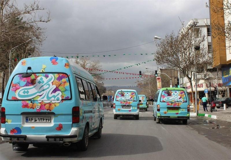 بیش از هزار زائر و مجاور مهمان تورهای نوروزی مشهدگردی